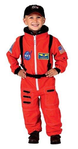Astronauta de la NASA Jr. Traje Niño / Child Costume Orange ...