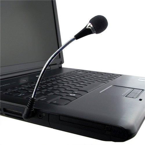 23 opinioni per SODIAL(TM) Mini microfono 3,5 mm flessibile per PC