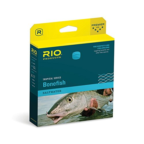 RIO Bonefish Quickshooter Hi-Visibility Floating Tapered Fly Fishing Lines