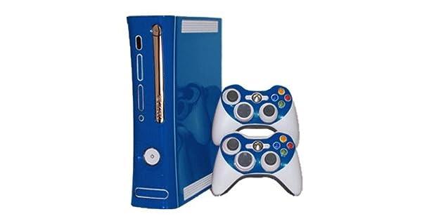 Amazon com: Microsoft Xbox 360 Skin (1st Gen) - NEW - OCEAN