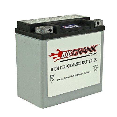 BatteryMart USA-Made Big Crank ETX14L AGM Maintenance Free - Year Battery 10 Ladies