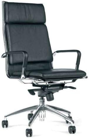 010 Ebay Topstar Classic Chair 10 S Al Leather Executive Office Chair Black Amazon De Kuche Haushalt