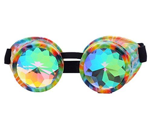HIOFFER Internet Steampunk Goggles Gothic Style Goggles