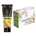 SILKTREE Combo of Lemon & Mint Skin Whitening Anti-Tan Face Wash(100ml) and SILKTREE Oats Handmade Soap(125gm)