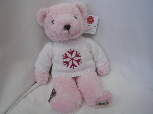 herrington-teddy-bear-pink-14-plush-beanie-toy-limited-edition-collectible