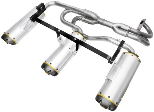 (Two Brothers Racing(005-2750406V) Stainless Steel M-7 Aluminum Canister Slip-On Exhaust System)