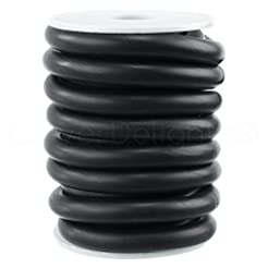CleverDelights Solid Rubber Cord - 3/8