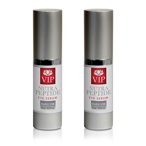 wrinkle cream for eyes - NUTRA PEPTIDE EYE SERUM - peptide gel - 2 Bottles