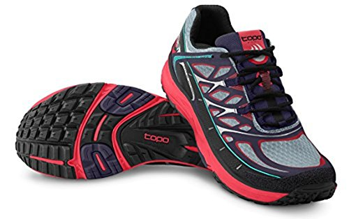 Topo Athletic MT2 Running Shoe - Women's Indigo/Fuchsia 11