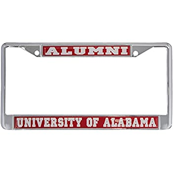Amazon.com: University of Alabama Roll Tide Alumni License Plate ...