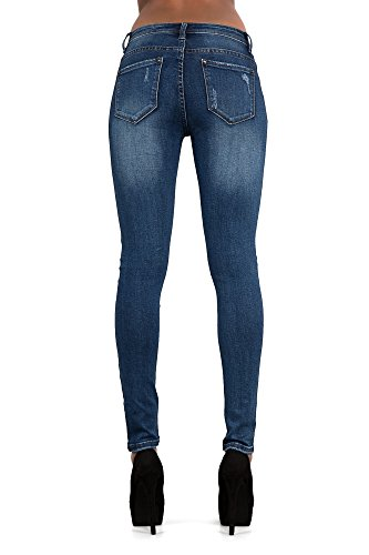 Vaqueros mujer Jeans Very para Ripped Blue LustyChic Dark axfwa7