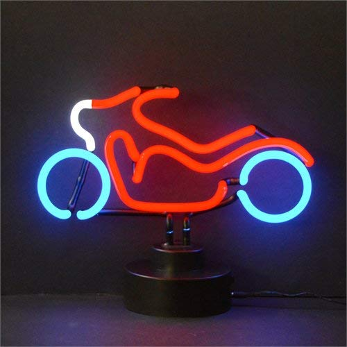 Motorcycle Sculpture Neon - Neonetics Cars and Motorcycles Motorcycle Neon Sign Sculpture
