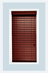 Amazon Com Custom Made Faux Wood Horizontal Window