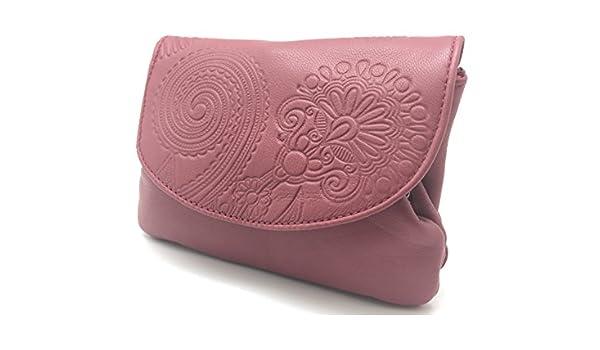 Cartera Portamonedas Monedero para Mujer Marca: Lugupell - Color: Rosa Orquídea (12,5 x 9 cm): Amazon.es: Equipaje