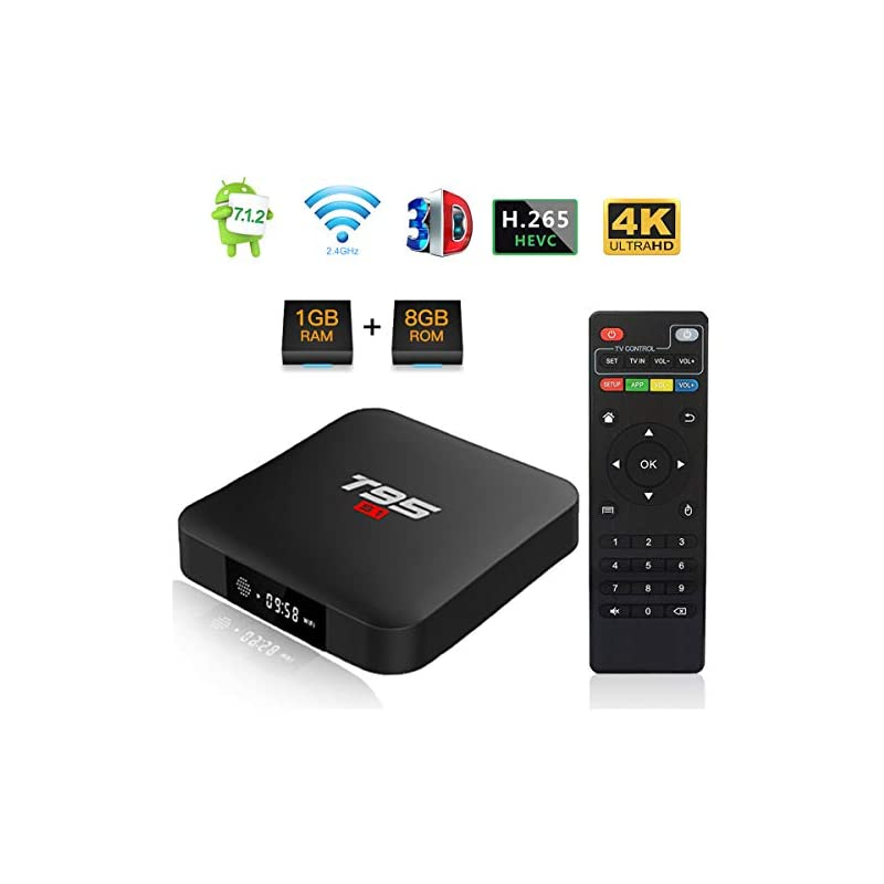 Android 7.1 TV Box, T95 S1 Smart Interne