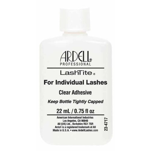 Ardell Lashtite Adhesive, Clear, 3/4-Fluid Ounce Bottle