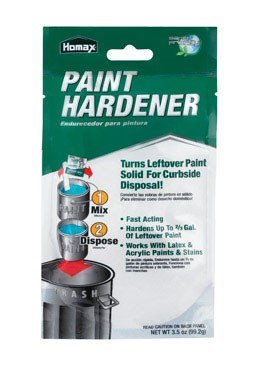 Homax - 3535 Fast Acting Waste Away Paint Hardener - 3.5oz (6 Pack)