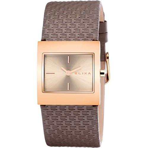 """Reloj Para mujeres E087-L332 Elixa CON CUERO Y venda con la garantía """""""