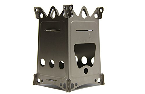 Emberlit Fireant,Titanium, Multi-fuel Backpacking Stove Great for Camping and (Multi Fuel Backpacking Stoves)