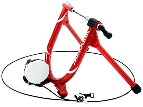 Minoura MagRide Bicycle Trainer with Remote, Red For Sale