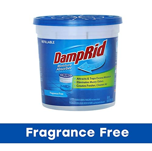 Purchase Damp Rid Not Available DampRid FG01K Refillable Moisture Absorber, Fragrance Free, 10.5-Oun...