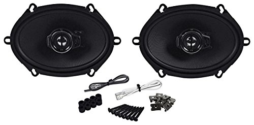 Kenwood 2 New KFC-C5795PS 5x7 360 Watt 3-Way Car Audio Coaxial Speakers Stereo