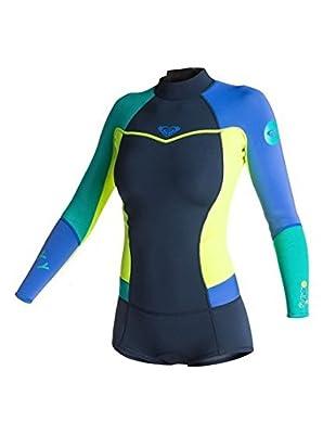 Roxy Womens Roxy Syncro 2/2Mm Back Zip Long Sleeve Springsuit Erjw403006