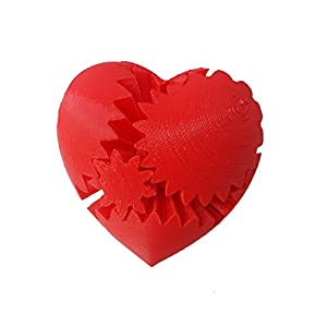 3D-Central-Rotating-Heart-Gear-Fidget-Toy-3D-Printed