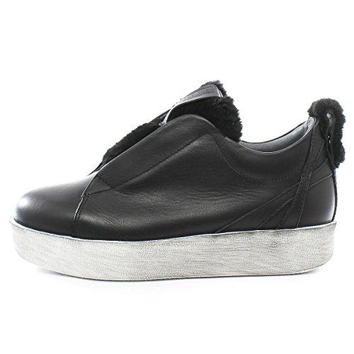 Pelliccia Liberty Aviator Fora Andia Sneakers Roxy Bianco Nero q15vt