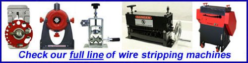 Copper Wire Stripping Machine CopperMine Authentic Wire Stripper =New=