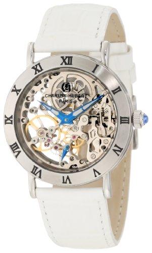 Charles-Hubert, Paris Women's 6790-W Premium Collection Stainless Steel Mechanical Watch -
