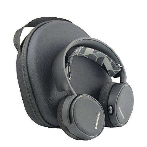 SANVSEN for SteelSeries Arctis 3 5 7 All-Platform Wireless Gaming Headset Hard Travel Case Bag