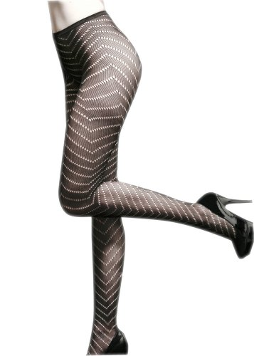 Fashion Mic Modern Abstract Print Pantyhose Many Styles (free, (Outline Fishnet)
