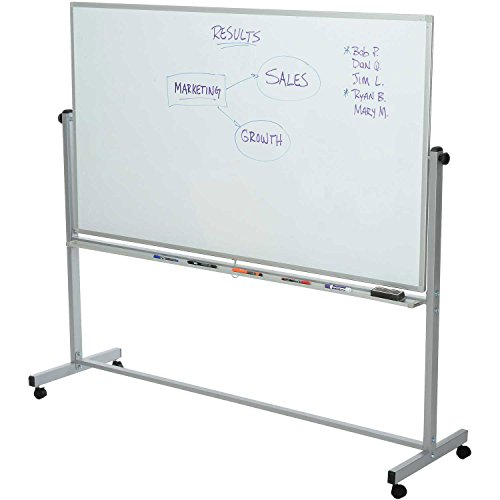 luxor-mb7240ww-reversible-magnetic-whiteboard