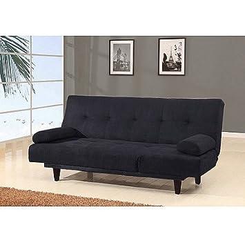 Amazon Com Large Multifunctional Convertible Futon Sofa Bed And