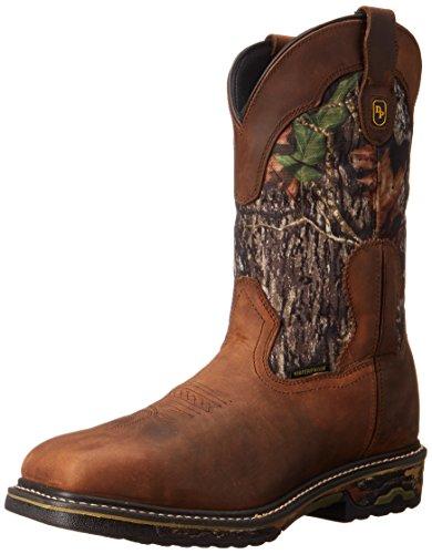 Dan Post Men's Hunter Steel Toe Work Boot - Saddle Tan/Ca...