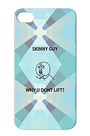 Tpu Why U No Lift Weight Lifting Jokes Buff Tough Guy Meme Skinny