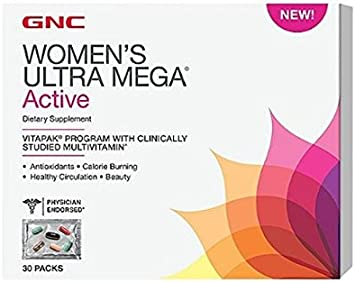 gnc mega woman vitamins ingredients