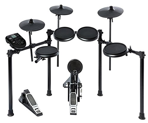 Alesis Nitro Kit | Electronic Drum Set with 8'' Snare, 8'' Toms, and 10'' Cymbals by Alesis