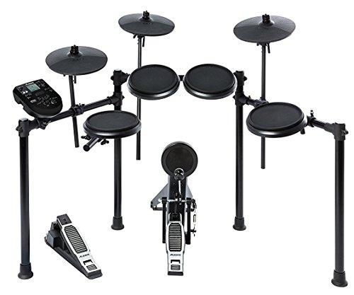 [해외] Alesis 전자 드럼 8인치・드럼 패드 10인치・심벌즈 Nitro Kit