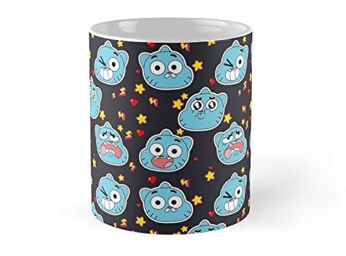 Gumball Pattern Mug - 11oz Mug - Made from Ceramic - Best gift for family friends ()
