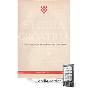 Studia Croatica - números 56-57 - 1975 (Spanish Edition) (Kindle Edition)