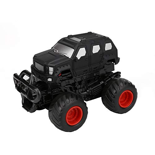 - Gbell Mini Pull Back Off-road Car Bounce Up Big Feet Monster Model Vehicle Toys Gifts For Boys Toddlers Kids Girls (Black)