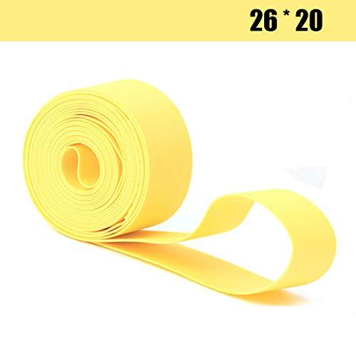 (Mantain 4 Pcs Bicycle Rim Strip Rim Tape Tire Liner Protector (26 X 20 mm))