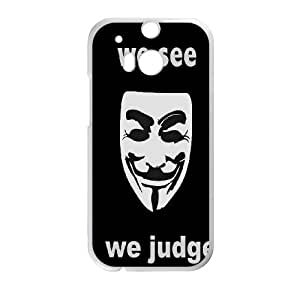 HTC One M8 Phone Case Fire V for Vendetta Q6A1158341