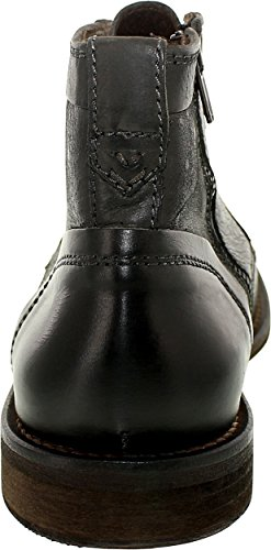 Kenneth Cole Mens Stivaletto In Pelle High-top Uomo May-de-man Nero