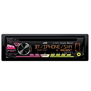 JVC KD-RD98BTS Single DIN Bluetooth In-Dash CD/AM/FM Car Stereo With Pandora Control/iHeartRadio compatibility