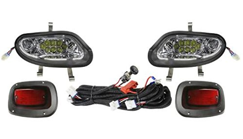 13Autosupply Basic Full LED Light Kit for EZ-GO TXT FREEDOM by 13Autosupply