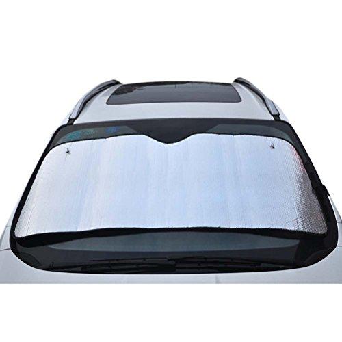 NEAER Front Windshield Sun Shade Accordion Folding Auto Sunshade for Car Truck SUV Auto Interior Accessories