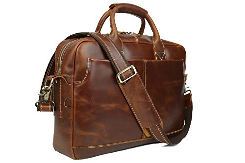 Vintage Simple Look Real Leather 17